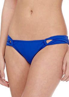 Shoshanna Solid Twist-Side Swim Bottom