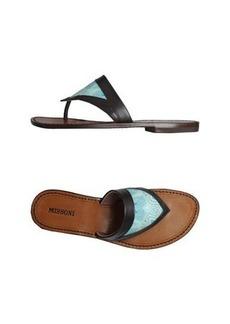 MISSONI - Flip flops & clog sandals