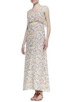 Joie Hydeia Floral-Print Tiered Maxi Dress