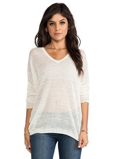 Velvet by Graham & Spencer Lily Aldridge for Velvet Josie Sweater in Ivory