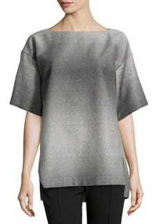 Lafayette 148 New York Bhima Ombre Saturnine Cloth Tunic