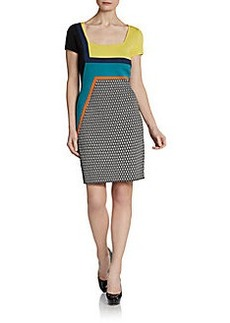 Catherine Malandrino Cora Colorblock Dress