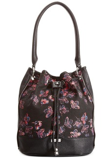 kensie Printed Drawstring Bag