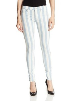 Hudson Jeans Women's Krista Indigo Jacquard Stripe Jean