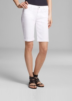 7 For All Mankind Shorts - Bermuda in Clean White
