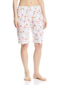 Hue Sleepwear Women's Thirsty Flamingo Bermuda