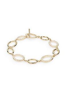 Adriana Orsini Pavé Oval Link Bracelet