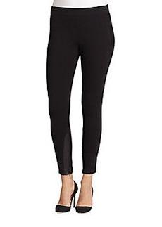 Elie Tahari Maya Knit Combo Pants