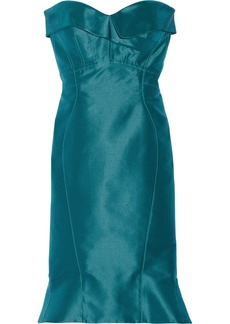 Zac Posen Silk-twill dress