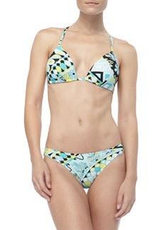 Capri-Print Padded Bikini   Capri-Print Padded Bikini