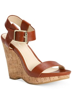 Calvin Klein Women's Nikole Platform Wedge Sandals