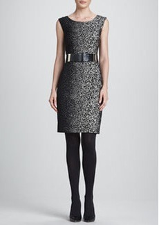 Lafayette 148 New York Noveau Epid Jacquard Dress