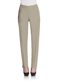 Lafayette 148 New York Slim Twill Pants