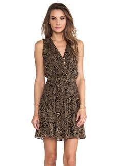 Diane von Furstenberg Zaeta Dress in Brown