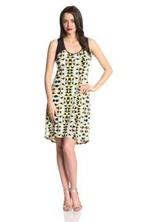 Calvin Klein Women's Printed Hi-Lo Dress