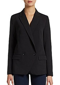 French Connection Amarello Peaked-Lapel Blazer