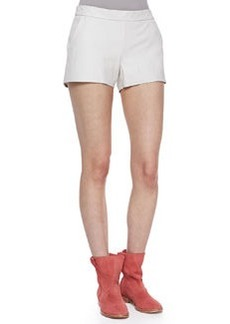 Joie Mariette Leather Shorts