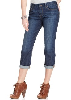 Lucky Brand Jeans Cropped Straight-Leg Jeans