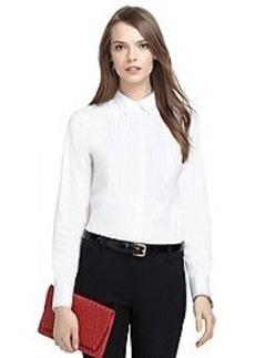 Tailored Fit Tuxedo Front Dress Shirt