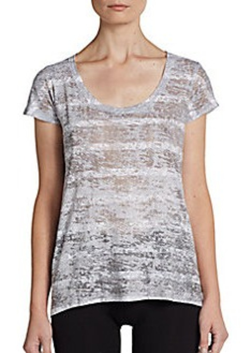 Calvin Klein Performance Printed Cutout Active Tee