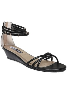 XOXO Donna Two Piece Demi Wedge Sandals