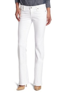 AG Adriano Goldschmied Women's Angeline Petite Bootcut Jean In White