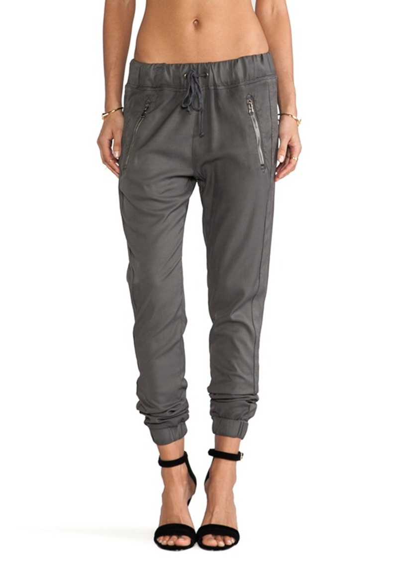 Hudson Jeans Katie Crop Pant in Charcoal
