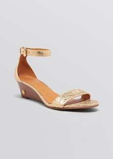 Tory Burch Open Toe Wedge Sandals - Savannah