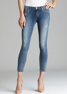 Hudson Jeans - Dakota Super Skinny Crop in Moonstone