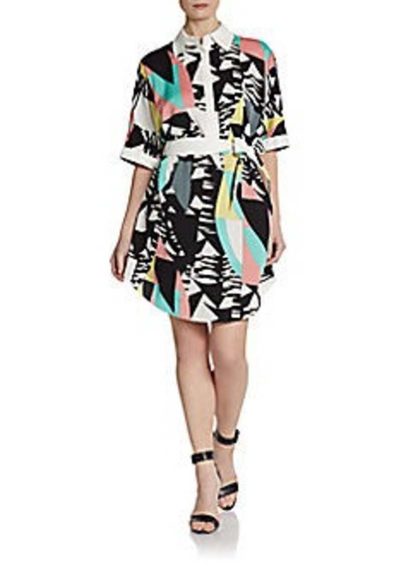 Catherine Malandrino Constance Printed Shirtdress