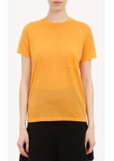 Proenza Schouler Short-Sleeve Sweater