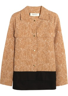 Marni Cotton-jacquard jacket
