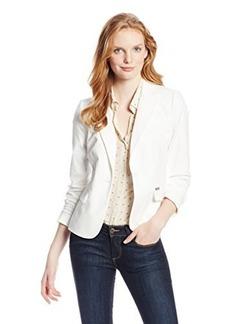 Calvin Klein Women's 1 Button Colored Jacket