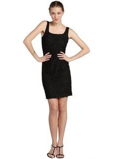 Isaac Mizrahi black stretch lace sleeveless dress