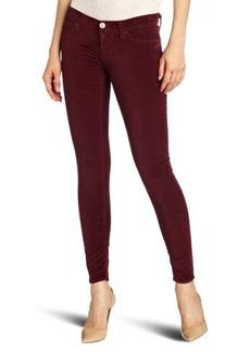 Hudson Jeans Women's Krista Velvet Skinny Jean