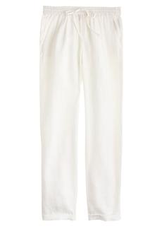 Linen drapey drawstring pant