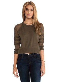 Paper Denim & Cloth Lawrence Sweater in Army