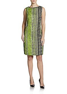 Elie Tahari Alyse Tweed Shift Dress