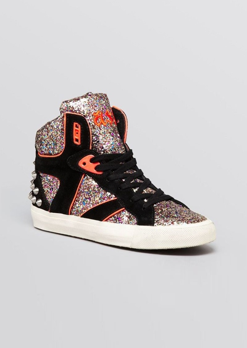 ash ash high top wedge sneakers spirit shoes shop it to me. Black Bedroom Furniture Sets. Home Design Ideas