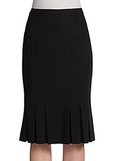 Michael Kors Wool Fit-And-Flare Skirt