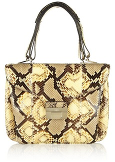 Valentino Python shoulder bag