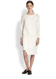 J Brand Maryse Asymmetrical Spiral Skirt