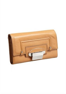 Kooba camel leather 'Turn Lock' wallet