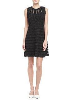 Dolly Sleeveless Lace Overlay Dress   Dolly Sleeveless Lace Overlay Dress