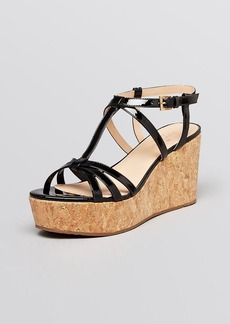 kate spade new york Platform Wedge Sandals - Tropez