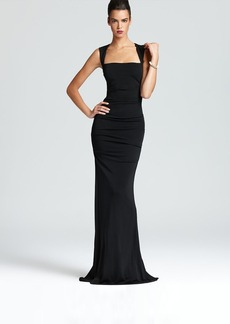 Nicole Miller Gown - Sleeveless Stretch