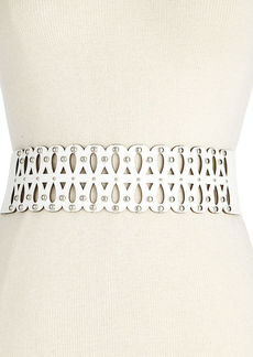 Steve Madden Perforated Stretch Waist Belt