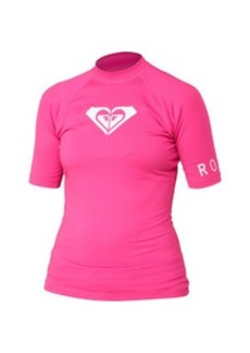 Roxy Whole Hearted Rashguard - Short-Sleeve - Women's