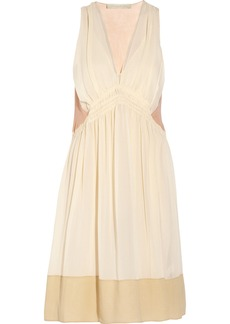 Vanessa Bruno Silk-georgette dress