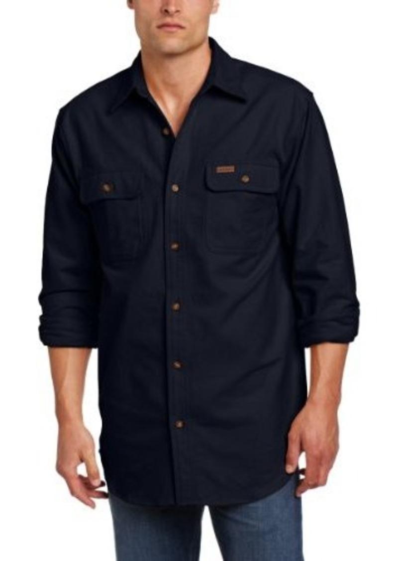Carhartt carhartt men 39 s big tall chamois shirt long for Men s big tall shirts